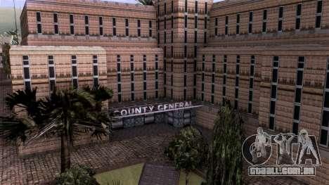 HQ LS Hospital Mipmap 16x para GTA San Andreas terceira tela