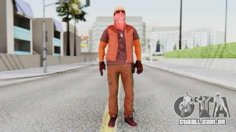 [BF Hardline] Gang Technician para GTA San Andreas segunda tela
