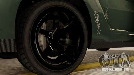GTA 5 Annis Elegy RH8 SA Style para GTA San Andreas traseira esquerda vista