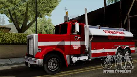 FDSA Helicopter Tender Truck para GTA San Andreas