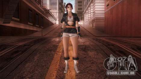 Momiji Kokoro DoA para GTA San Andreas segunda tela