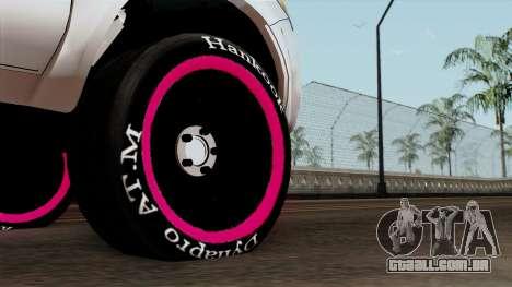 Toyota Hilux 2014 para GTA San Andreas traseira esquerda vista