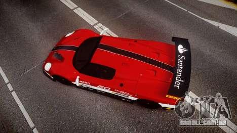 Ferrari F50 GT 1996 Scuderia Ferrari para GTA 4 vista direita