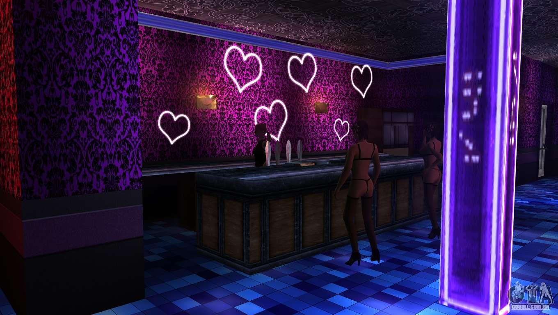 Clubes de striptease en amarillo