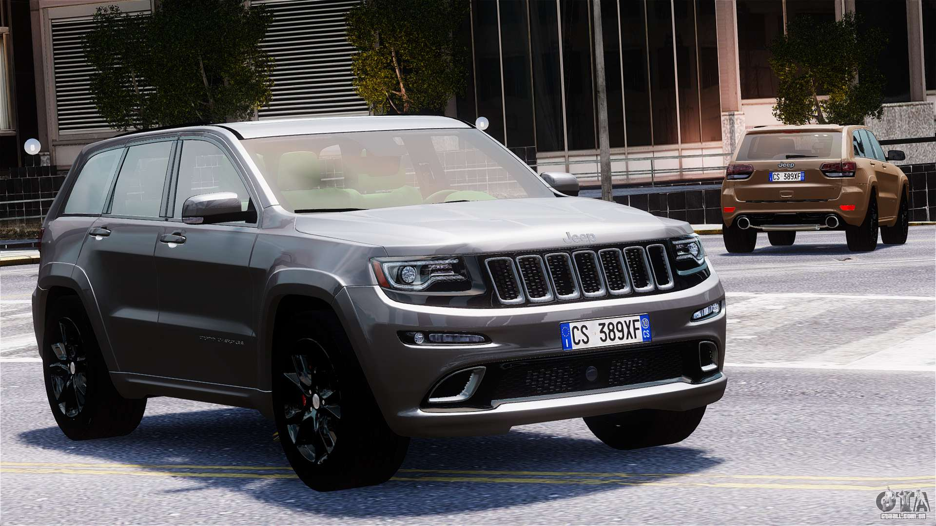 jeep grand cherokee srt8 2015 para gta 4. Black Bedroom Furniture Sets. Home Design Ideas
