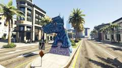 Estátua Do Dragão Ilusion
