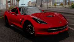 Chevrolet Corvette C7 Stingray 1.0.1 para GTA San Andreas