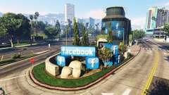 Construção de rede social Facebook para GTA 5