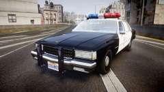 Chevrolet Caprice 1989 LAPD [ELS]