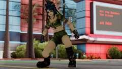 Leona from KoF Maxium Impact