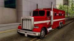 FDSA Mobile Command Post Truck para GTA San Andreas