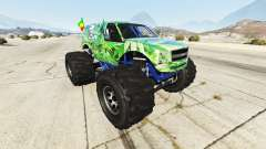 Vapid The Liberator Cannabis para GTA 5