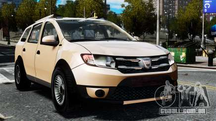 Dacia Logan MCV Stepway 2014 para GTA 4