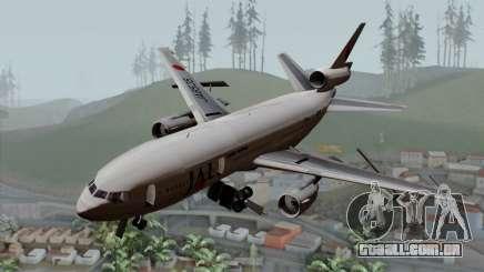 DC-10-30 Japan Airlines para GTA San Andreas