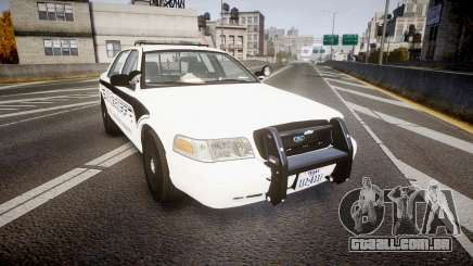 Ford Crown Victoria 2011 New Alderney Sheriff para GTA 4