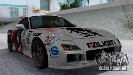 Mazda RX-7 Itasha para GTA San Andreas