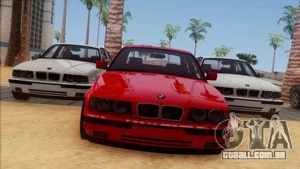BMW M5 E34 BUFG Edition para GTA San Andreas