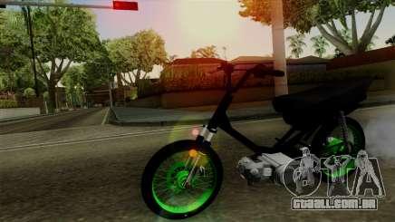 Honda Wave Desarmada Stunt para GTA San Andreas