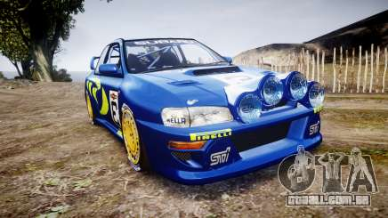 Subaru Impreza WRC 1998 World Rally para GTA 4
