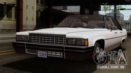 GTA 5 Albany Emperor para GTA San Andreas