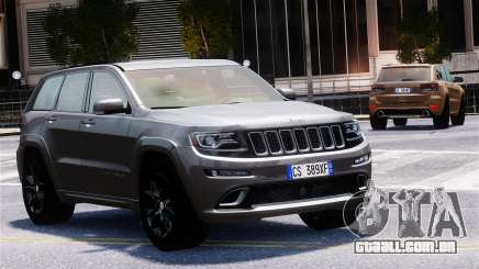 Jeep Grand Cherokee SRT8 2015 para GTA 4