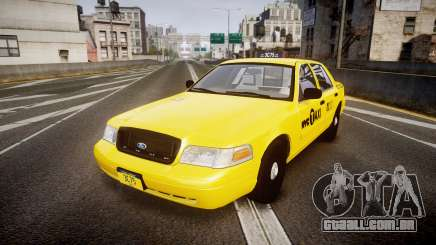 Ford Crown Victoria 2011 NYC Taxi para GTA 4
