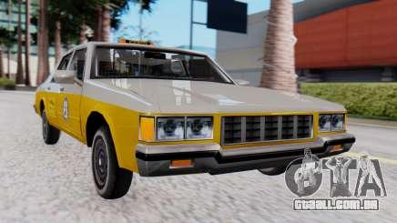 Chevrolet Caprice 1980 SA Style Cab para GTA San Andreas