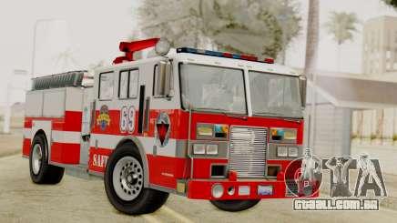 MTL SAFD Firetruck para GTA San Andreas