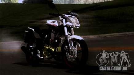 Yamaha Vixion Advance Lominous White para GTA San Andreas