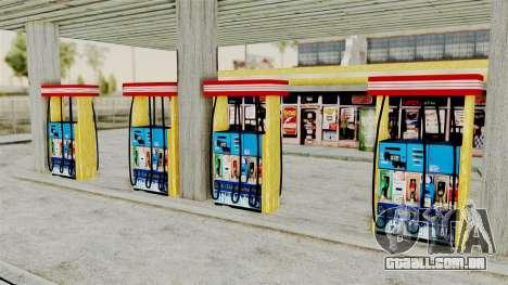LS CJ Gas v2 para GTA San Andreas terceira tela