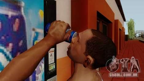 Rani Juice Can para GTA San Andreas terceira tela