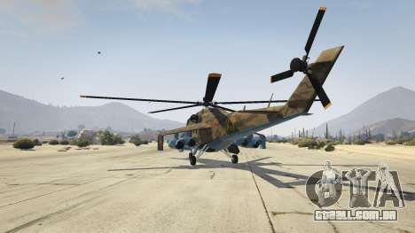 GTA 5 Mi 24 terceiro screenshot