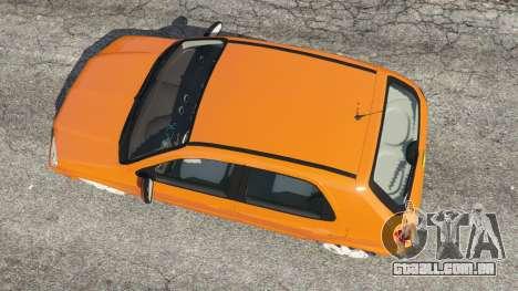 GTA 5 Chevrolet Celta voltar vista