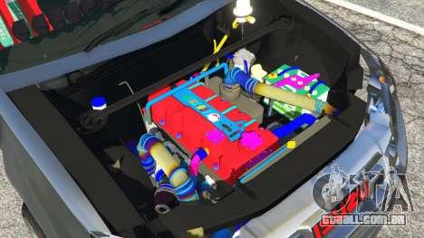 GTA 5 Isuzu D-Max traseira direita vista lateral