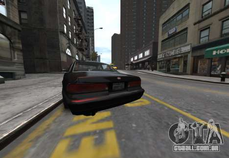 Prototype Crown 1997 Civilian para GTA 4 traseira esquerda vista