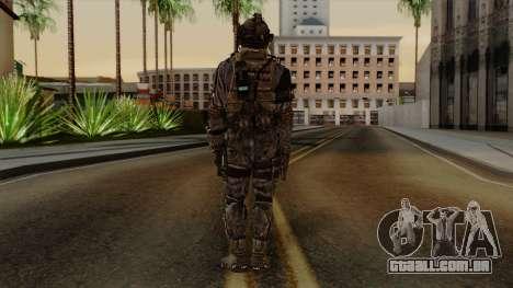CoD Custom Ghost Retextured para GTA San Andreas terceira tela