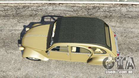 Citroen 2CV para GTA 5