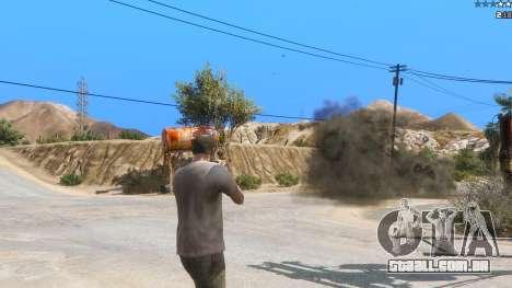 GTA 5 Insane Overpowered Weapons mod 2.0 segundo screenshot