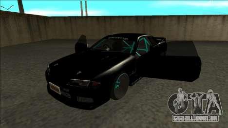 Nissan Skyline R32 Drift Monster Energy para GTA San Andreas vista traseira