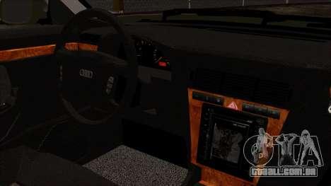 Audi A8 D2 para GTA San Andreas vista direita