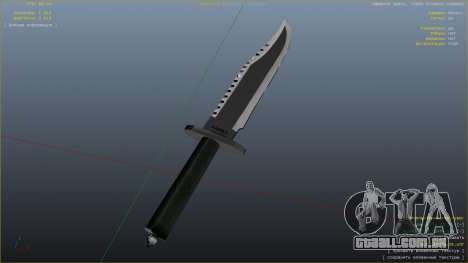 GTA 5 A Faca Do Rambo oitmo screenshot