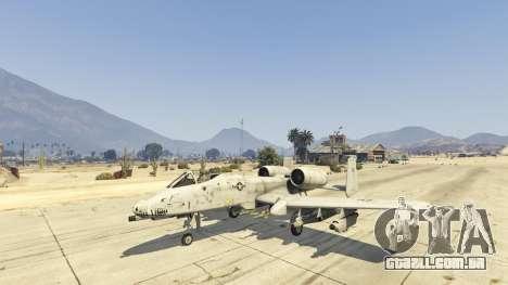 GTA 5 A-10A Thunderbolt II 1.1 terceiro screenshot