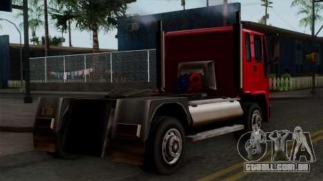 DFT-30 Truck para GTA San Andreas esquerda vista