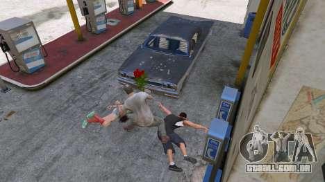 GTA 5 Um buquê de flores quarto screenshot