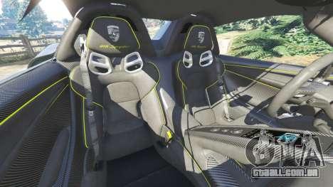 GTA 5 Porsche 918 Spyder 2014 [HD] volante