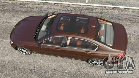 GTA 5 BMW 750Li 2016 v1.1 voltar vista