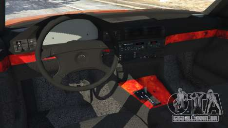 BMW 535i (E34) v2.0 para GTA 5
