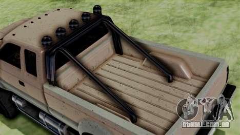 GTA 5 Vapid Sandking para GTA San Andreas traseira esquerda vista