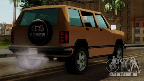Landstalker from Vice City IVF para GTA San Andreas esquerda vista