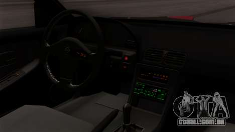 Nissan 180SX Street Golden Rims para GTA San Andreas vista direita